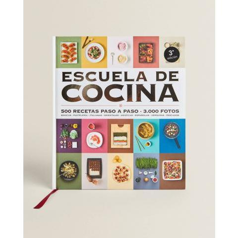 LIVRE « ESCUELA DE COCINA » GRIJALBO - COLLECTION - NOUVEAUTÉS - NOUVELLE COLLECTION | Zara Home France