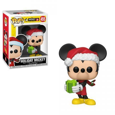 Disney Mickey's 90th Holiday Mickey Pop! Vinyl Figure
