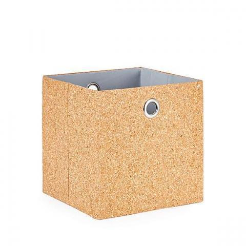 Cork Foldable Storage Box | Dunelm