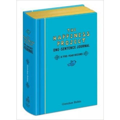 The Happiness Project One-Sentence Journal: A Five-Year Record: Gretchen Rubin: 9780307888570: Amazon.com: Books