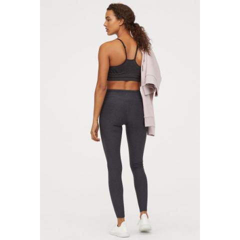 Collant training Shaping Waist - Gris foncé chiné - FEMME | H&M FR