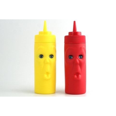 Blink Ketchup and Mustard Squeeze Bottles