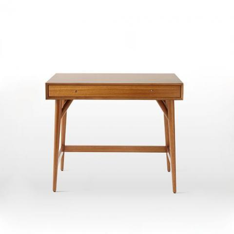 Mid-Century Mini Desk – Acorn | west elm