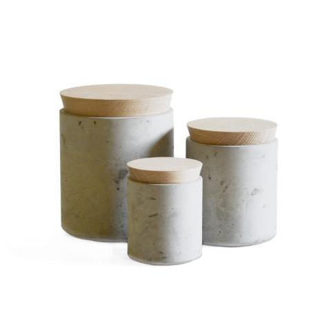 Concrete Storage Canisters – Made+Good