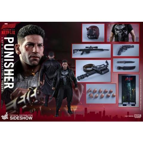 Marvel The Punisher Sixth Scale Figure by Hot Toys | Sideshow Collectibles