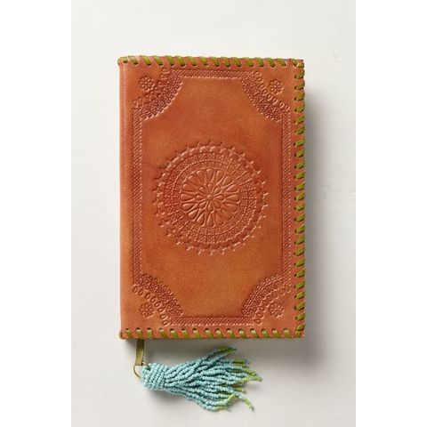 Embossed Leather Journal - anthropologie.eu