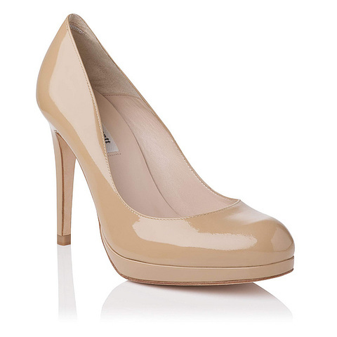 Sledge Patent Leather Platform Court | Court Shoes | Shoes | L.K.Bennett, London