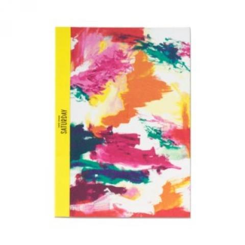Slim Notebook in Abstract - Kate Spade Saturday