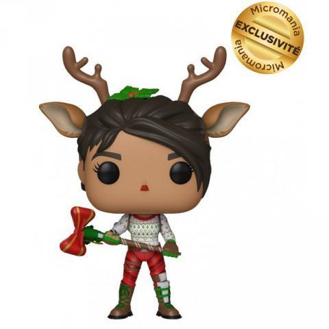 FIGURINE TOY POP 437 - Fortnite - Red Nosed Raider (Exclusivité Micromania) - DIVERS