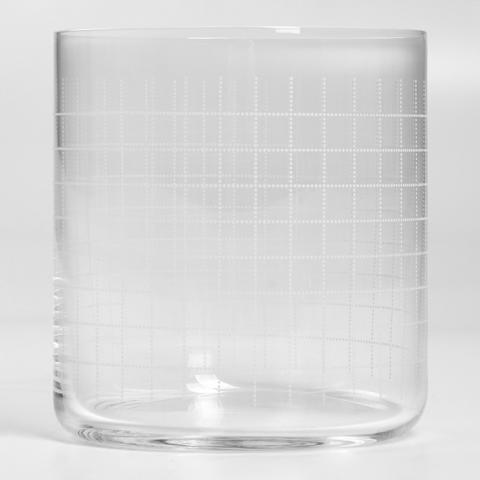 Finesse Grid Whisky Glass - Home Accessories - The Conran Shop