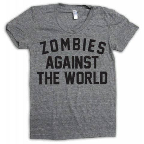 Print Liberation Store — Zombies Against The World (women)