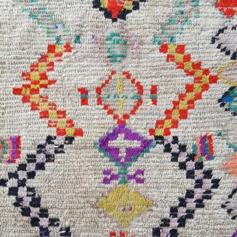 On The Rug — TAPIS AZILAL ANCIEN LUMINEUX