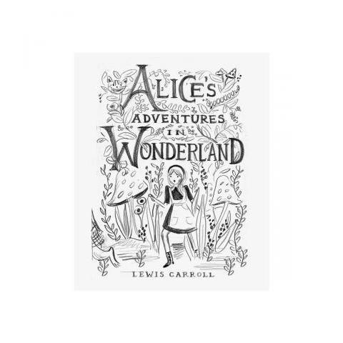 Alice Sketch Art Print by RIFLE PAPER Co. | Made in USA