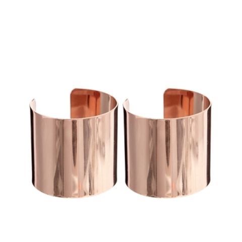 River Island | River Island Clean Rose Gold Cuffs at ASOS