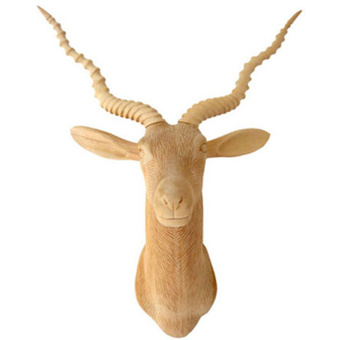 Enchanted Forest Collection: Capricorn Modern Trophy Head Wall Sculpture