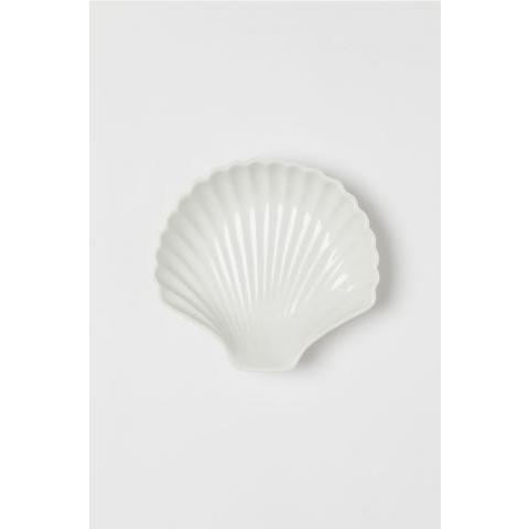 Plat coquillage - Blanc - Home All | H&M FR