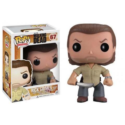 Pop! TV: The Walking Dead - Prison Yard Rick Grimes | Funko
