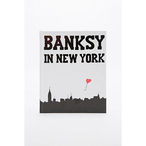 Livre Banksy in New York - Urban Outfitters