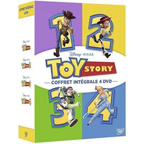 Toy Story-Coffret intégrale 4 Films: Amazon.fr: John Lasseter, Ash Brannon, Lee Unkrich, Josh Cooley: DVD & Blu-ray