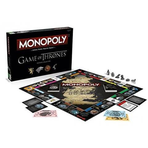 Winning Moves - 0970 - Monopoly Game Of Thrones - Version Française: Amazon.fr: Jeux et Jouets